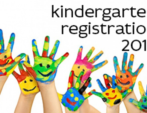 Kindergarten Registration 2015-2016 Is Already Here!