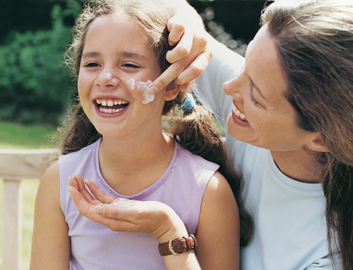 Summer is around the bend…time to think about ways to save you and your child's skin.